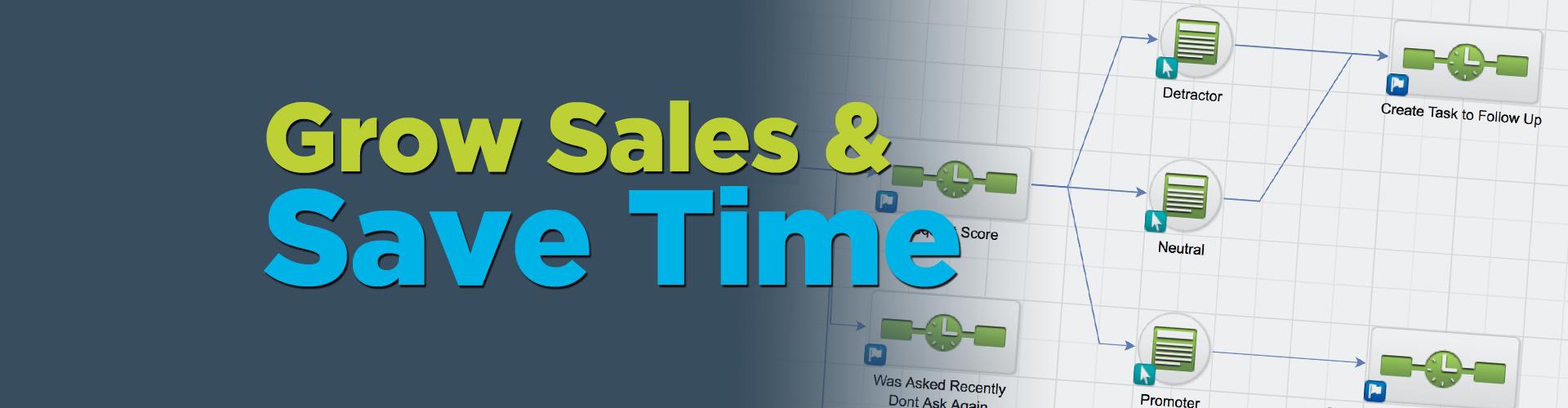 Grow Sales & Save Time